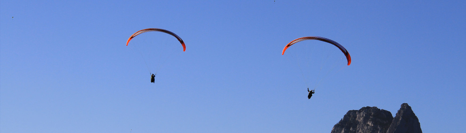 Stage parapente thermique Annecy